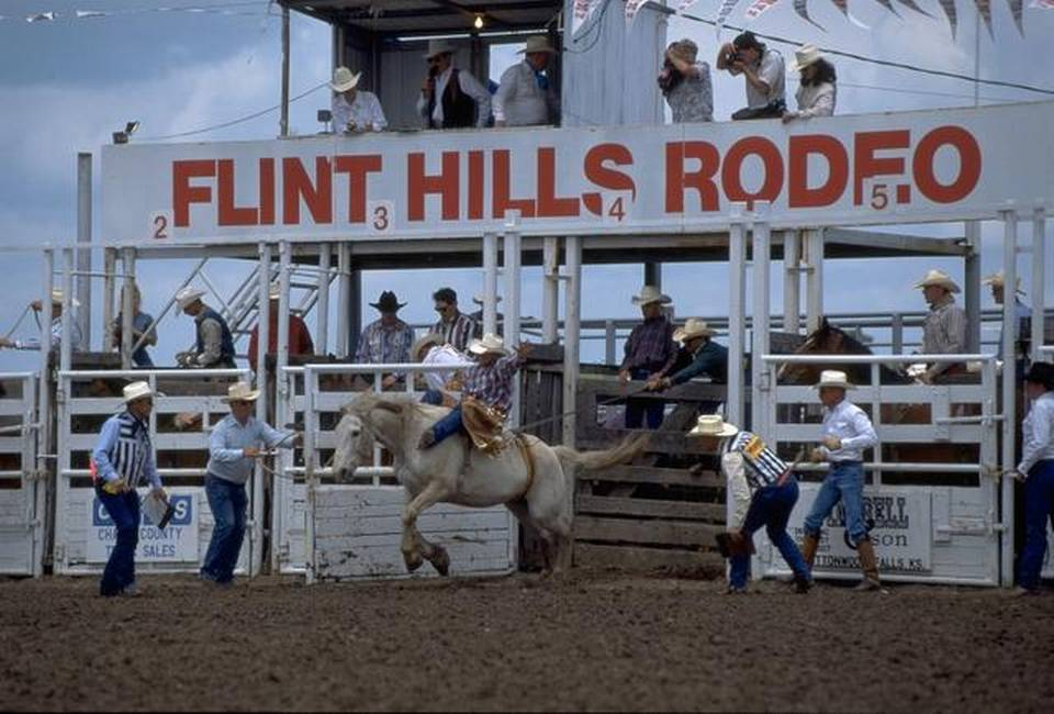 Flint Hills Rodeo Chase County Kansas Find Yourself Here